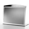 A4 landscape tabletop magnetic sign holder