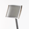 A4 satellite sign holder from DM Graphics shown in the horizontal position
